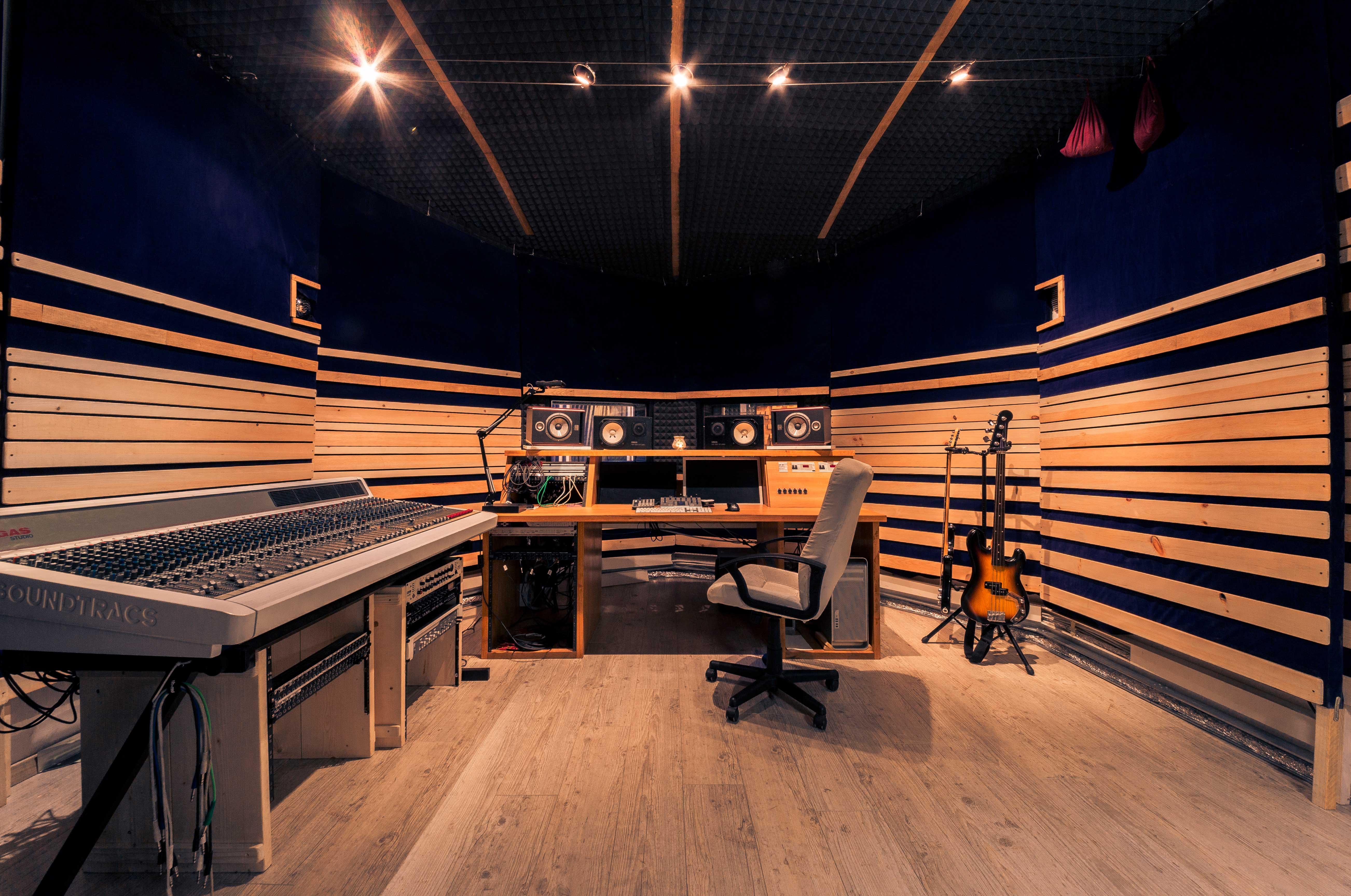 Studio registrazione - sala regia