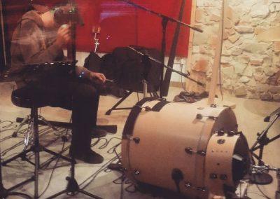 percussion overdub
