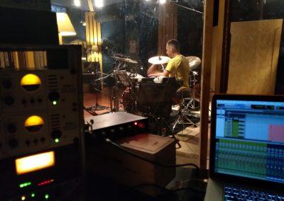 Marco Calì Drum Recording